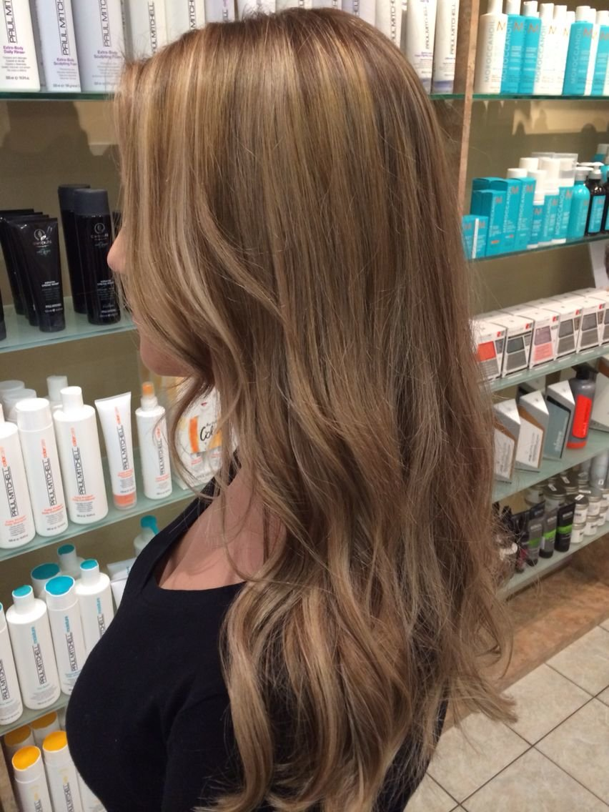 Free Natural Looking Level 7 8 Ash Blonde With Fine Highlights Wallpaper