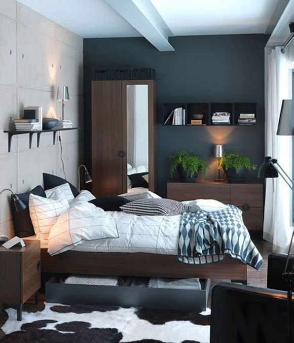 Best Bedroom Design Dark Blue Paint Colors For Small Bedrooms Best Minimalist Furniture Pretty With Pictures