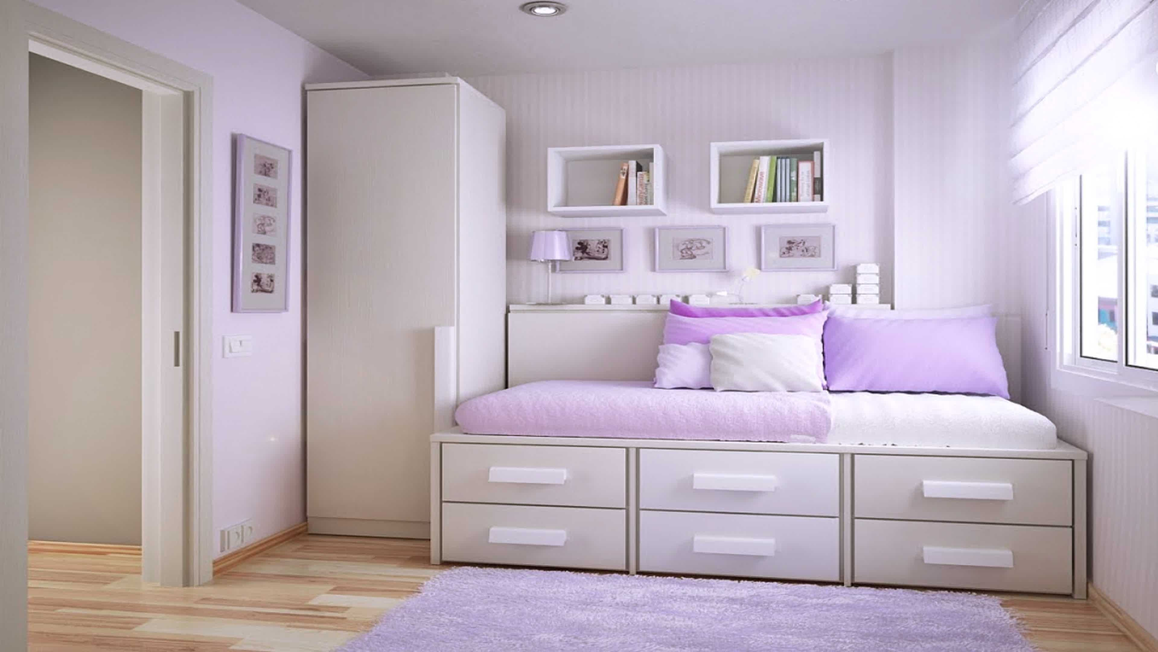 Best Simple Bedroom Design For Teenage Girl Home Design Minimalis Living Room Simple Girls With Pictures