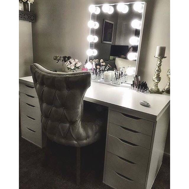 Best Vanity Table For Makeup With Light Up Mirror Home Sweet With Pictures