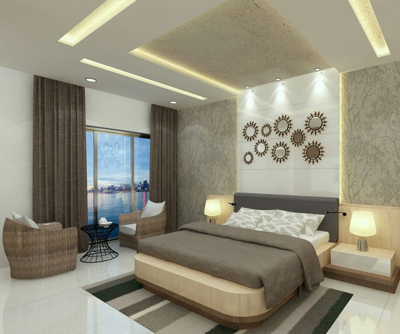 Best Luxury Bedroom With Elements And Fittings Interior With Pictures