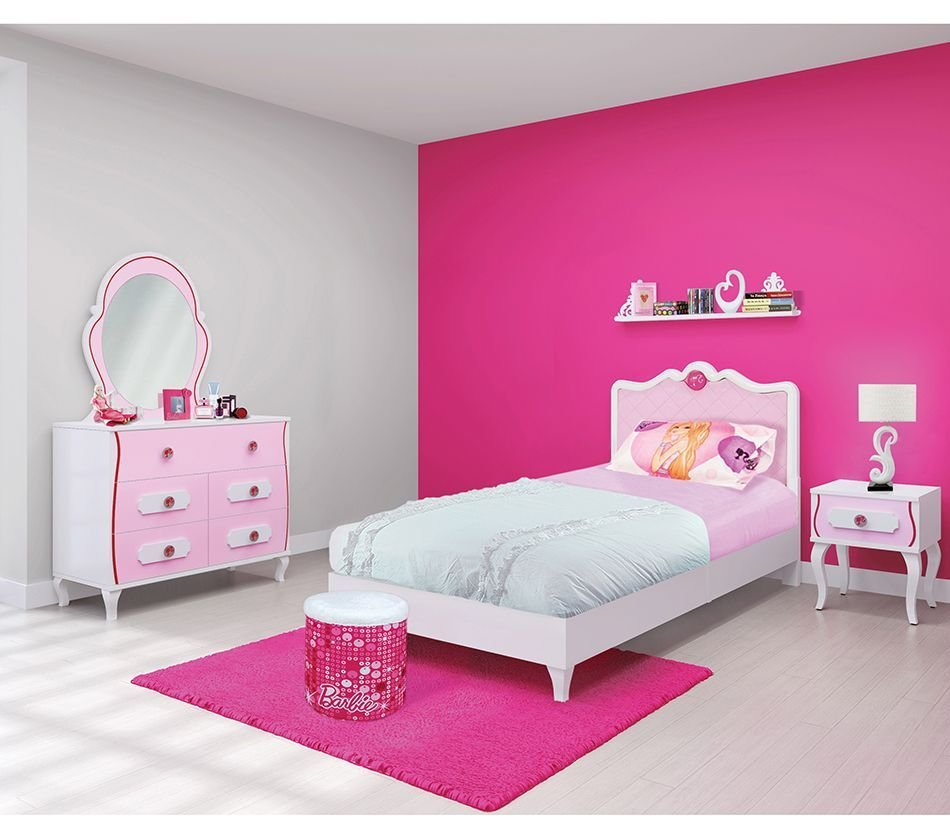 Best Barbie Bedroom In A Box The Color Pink Barbie Bedroom With Pictures