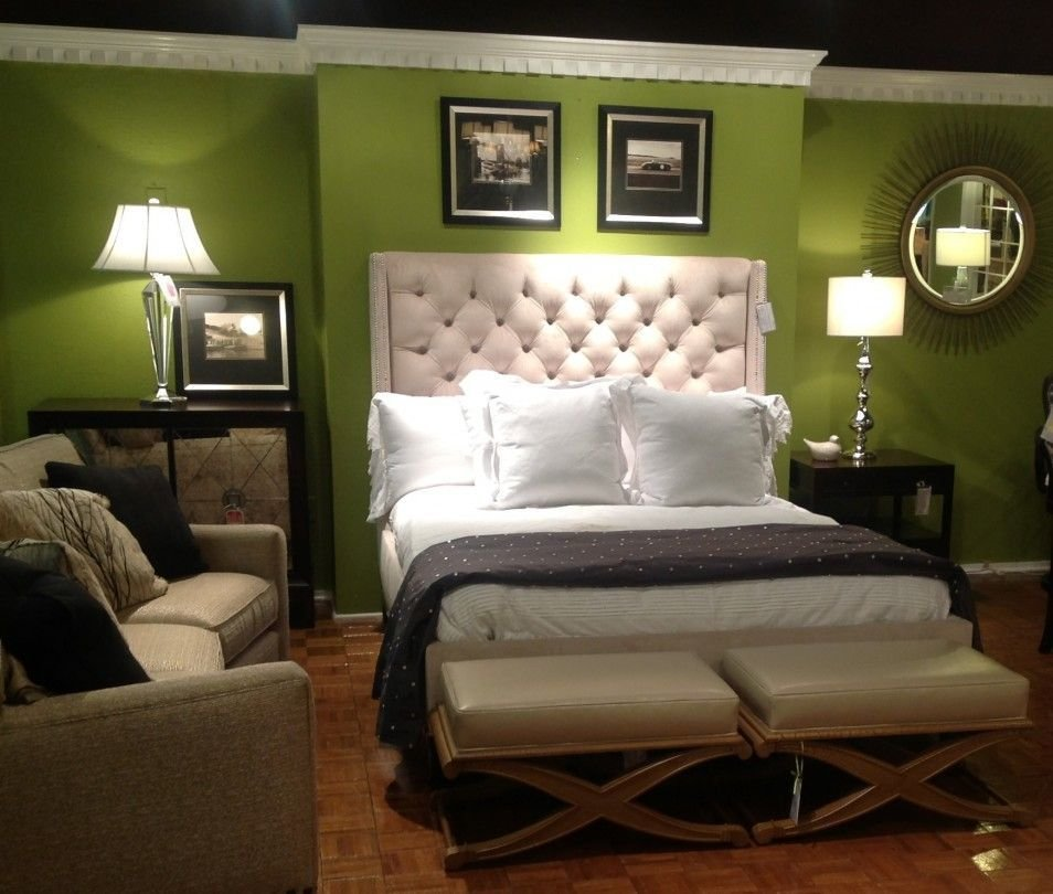 Best Green And Brown Bedroom Cute Green Wall Color Bedroom With Pictures