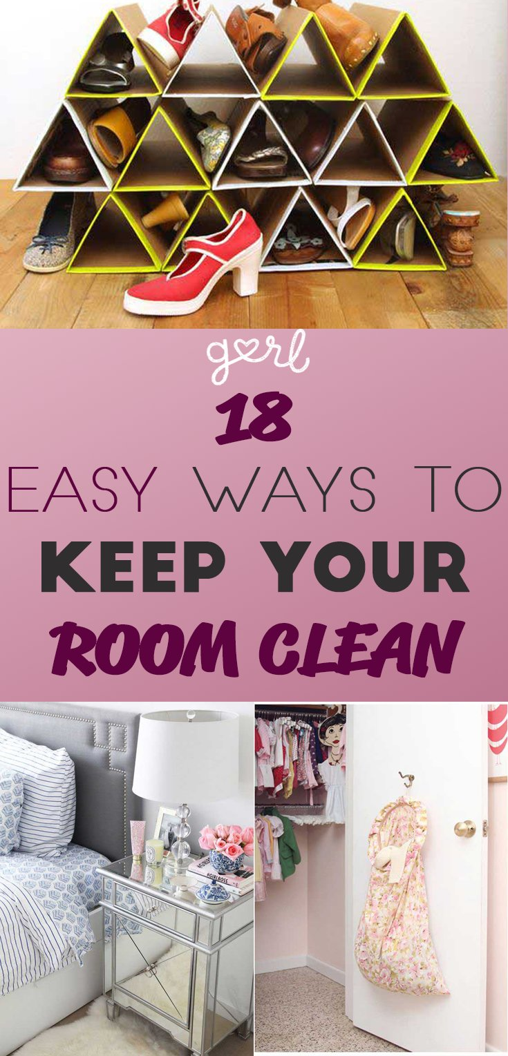 Best 18 Easy Ways To Keep Your Bedroom Clean Even Lazy Girls With Pictures
