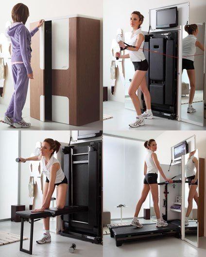 Best Furniture Archives Page 3 Of 4 Unclutterer Home Gym With Pictures