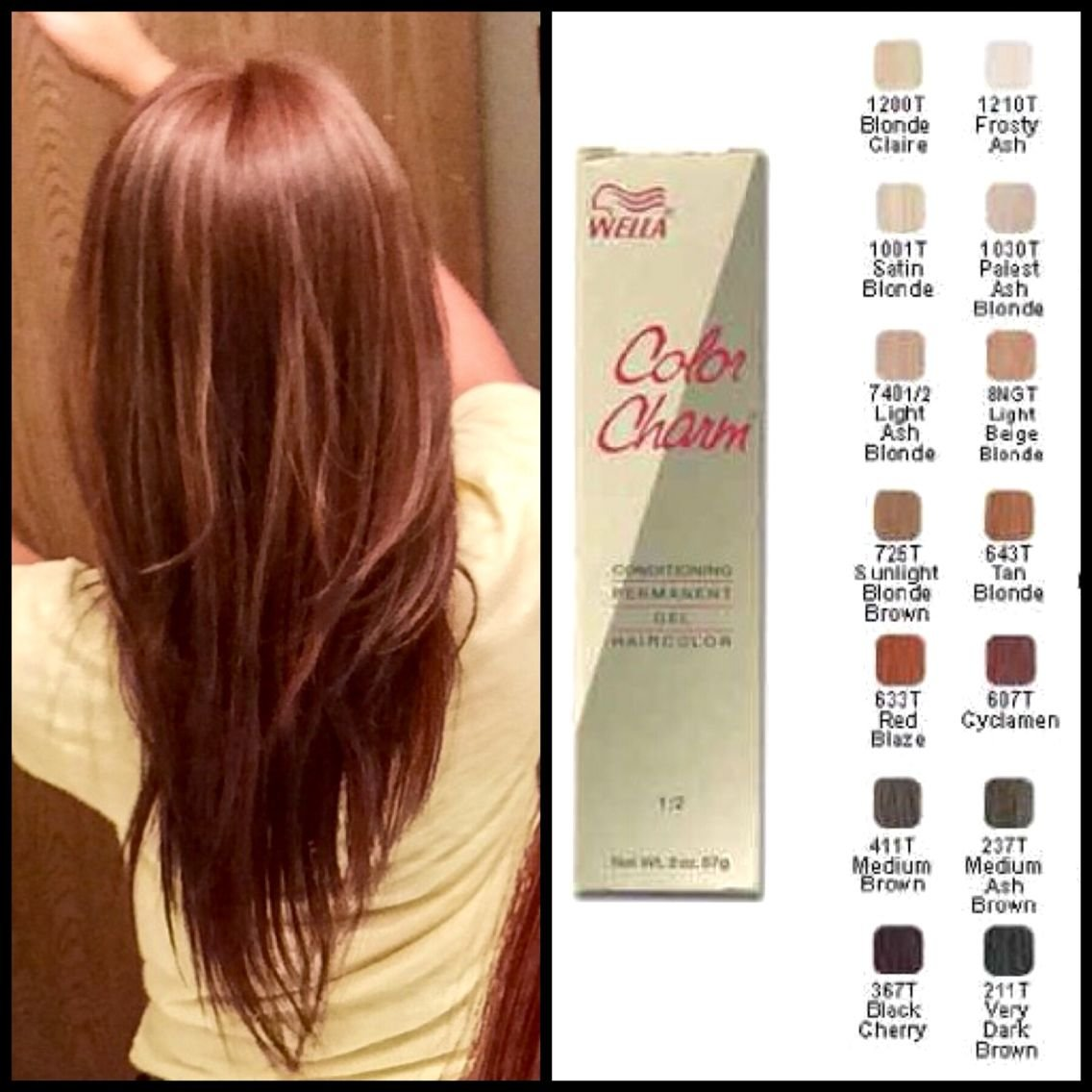 Free My Favorite Affordable Hair Dye Brand Wella Color Charm Wallpaper