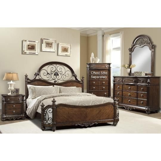 Best Clearance Davis International 4 Piece Cal King Bedroom Set With Pictures