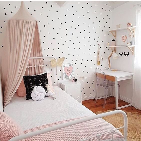 Best Polka Dot Kids Room Design Ideas Kids Room Ideas With Pictures