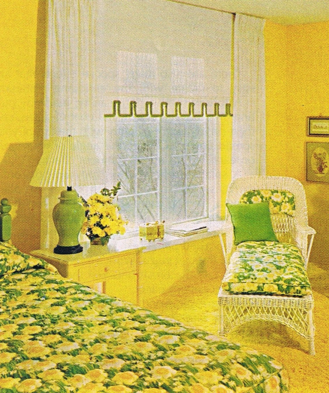 Best T**N Sunflower Room 1973 Mid Century Modern Interior With Pictures