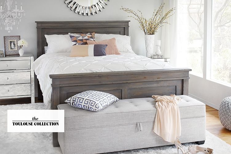 Best Toulouse Reclaimed Wood Bedroom Furniture Urban Barn With Pictures