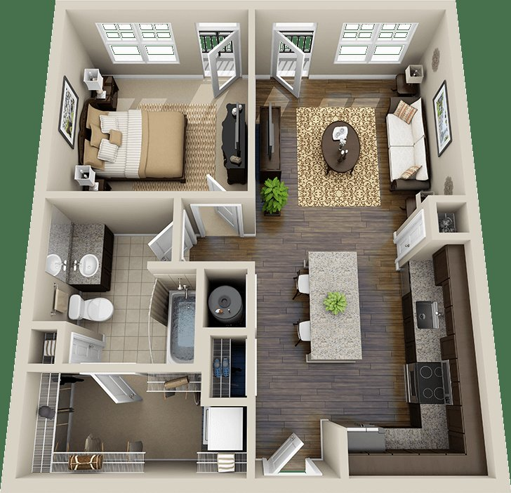Best The 25 Best 1 Bedroom Flat Ideas On Pinterest Flat With Pictures