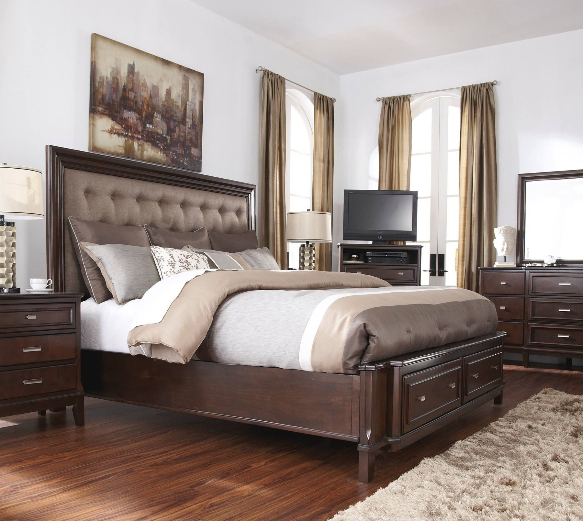 Best Ashley Furniture Homestore House Master Bedroom Bedroom Decor Furniture King Storage Bed With Pictures