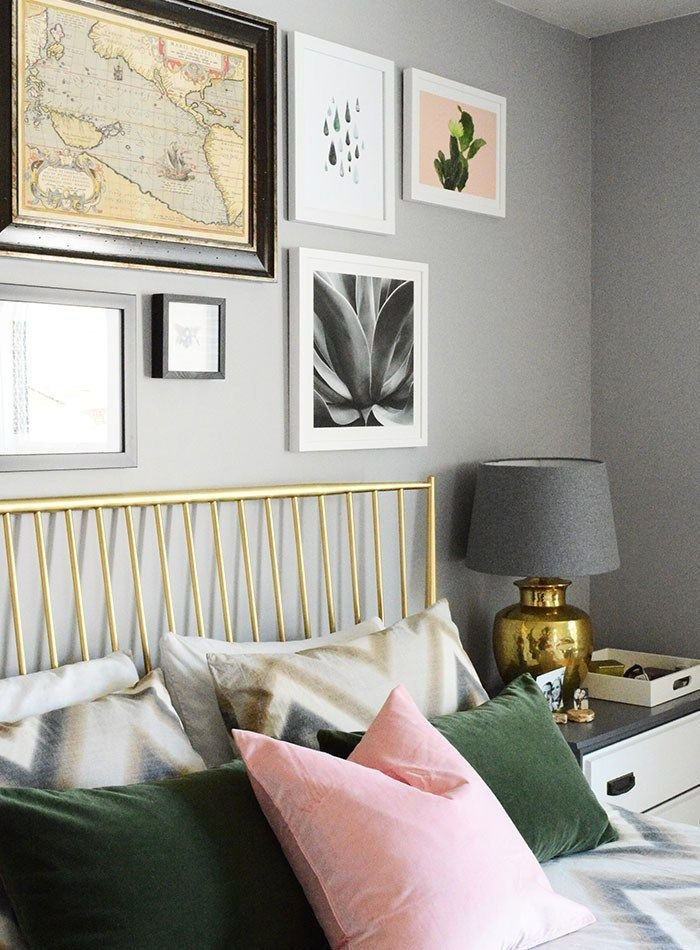 Best Fashion For The Home – Blush And Emerald Master Bedroom With Pictures