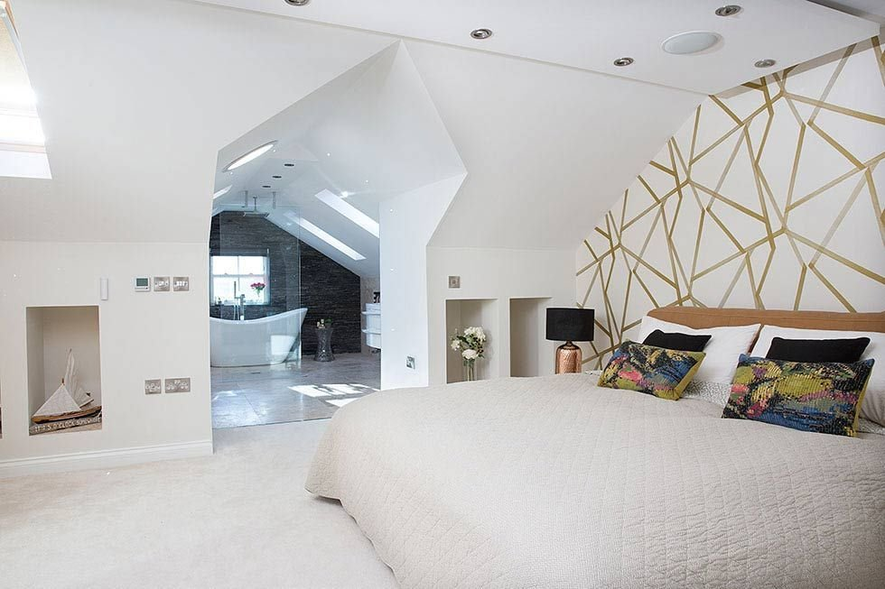 Best Open Plan Master Bedroom And Ensuite In A Loft Conversion With Pictures