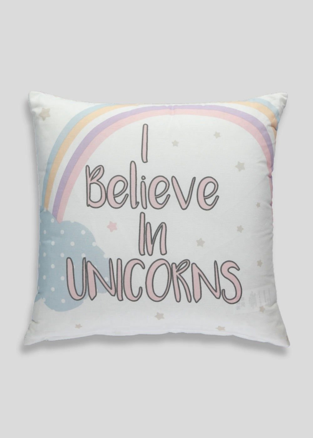 Best Unicorn Slogan Cushion 35Cm X 35Cm – Matalan Gili With Pictures