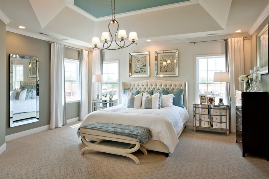 Best Duke Carolina Model Home Master Bedroom Staging In 2019 With Pictures