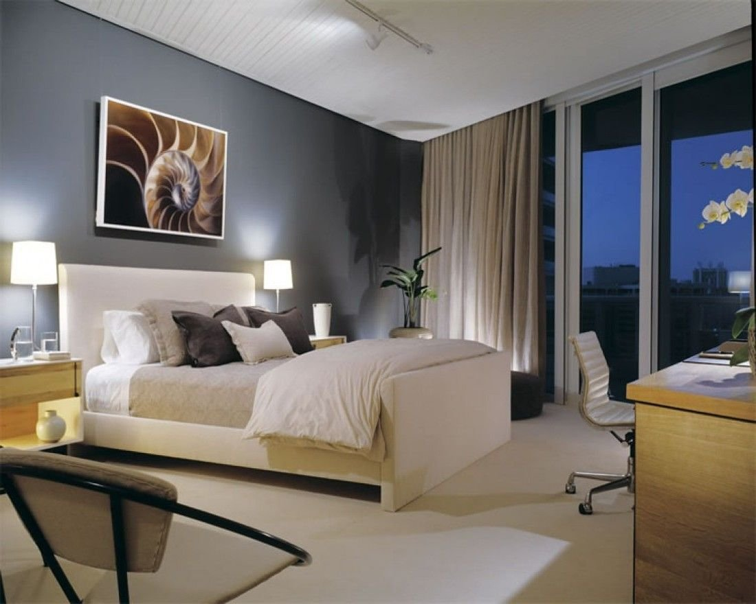 Best My Home Decorating Ideas For Beach Condos Attractive Condominium Master Bedroom Interior With Pictures