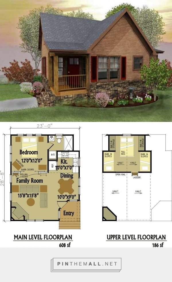 Best Small Cabin Designs With Loft Tiny House Love Small With Pictures
