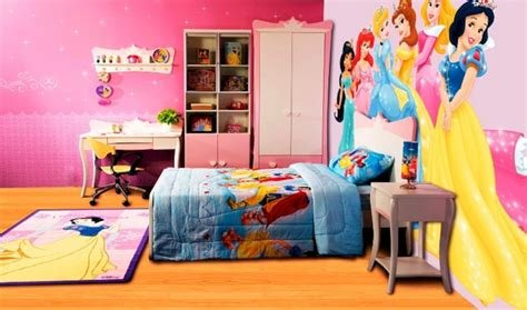 Best Girls' Disney Princess Bedroom Furniture Design Ideas With Pictures