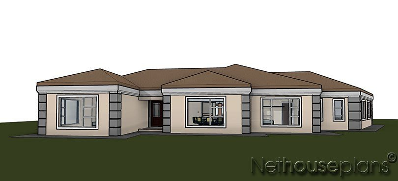 Best 5 Bedroom House Plan Single Storey House Design With Pictures