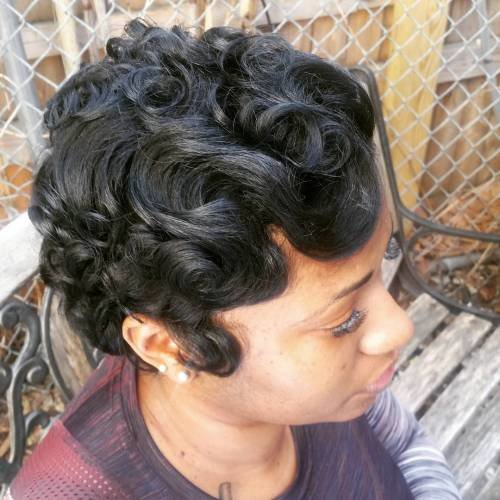 Free 13 Finger Wave Hairstyles You Will Want To Copy Wallpaper