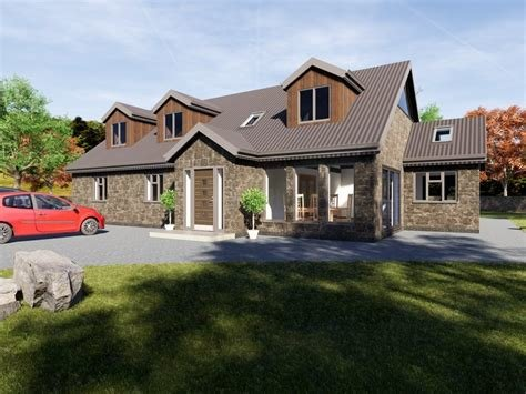 Best 4 Bedroom Dormer Bungalow Plans The Aconbury With Pictures