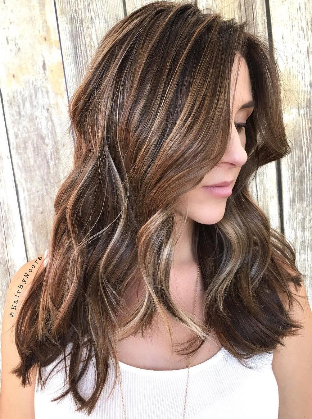 Free 50 Light Brown Hair Color Ideas With Highlights And Lowlights Wallpaper