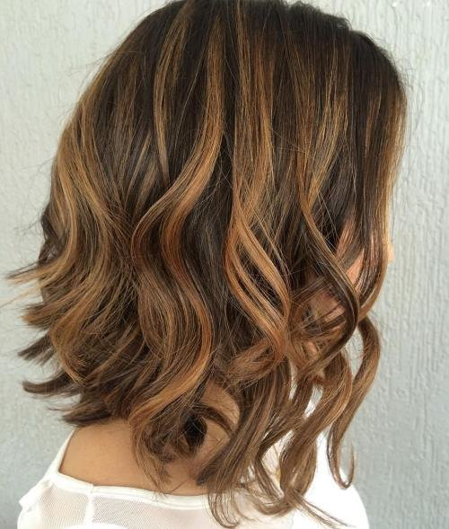 Free 60 Looks With Caramel Highlights On Brown And Dark Brown Hair Wallpaper