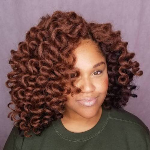 Free 40 Crochet Braids Hairstyles For Your Inspiration Wallpaper