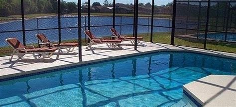 Best Cheap Florida Holiday Villa 4 Bedrooms Pool Lake View With Pictures
