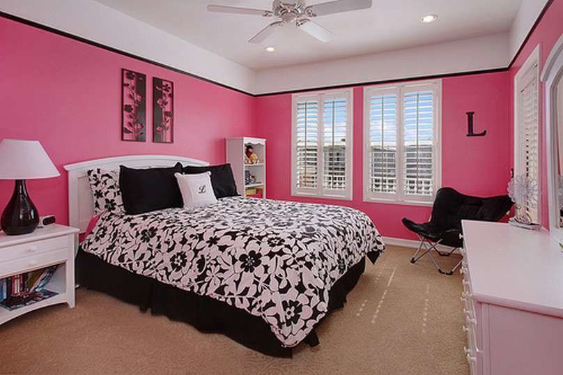 Best Bedroom Ideas Pink And Black Bedroom Home Decor With Pictures
