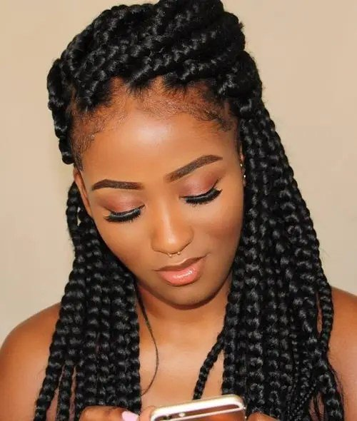 Free 50 Exquisite Box Braids Hairstyles That Really Impress Wallpaper