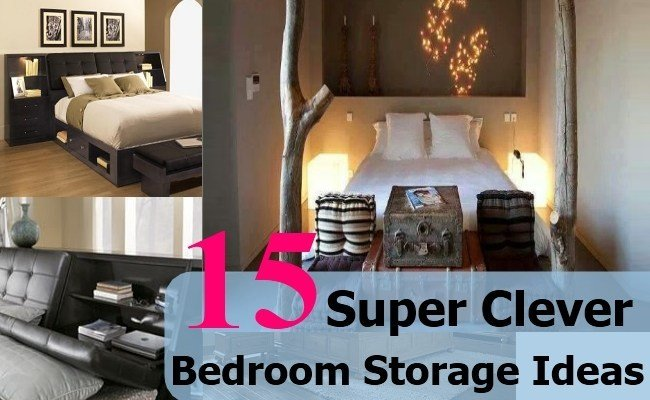 Best 15 Super Clever Bedroom Storage Ideas Diy Home Life Creative Ideas For Home Garden With Pictures