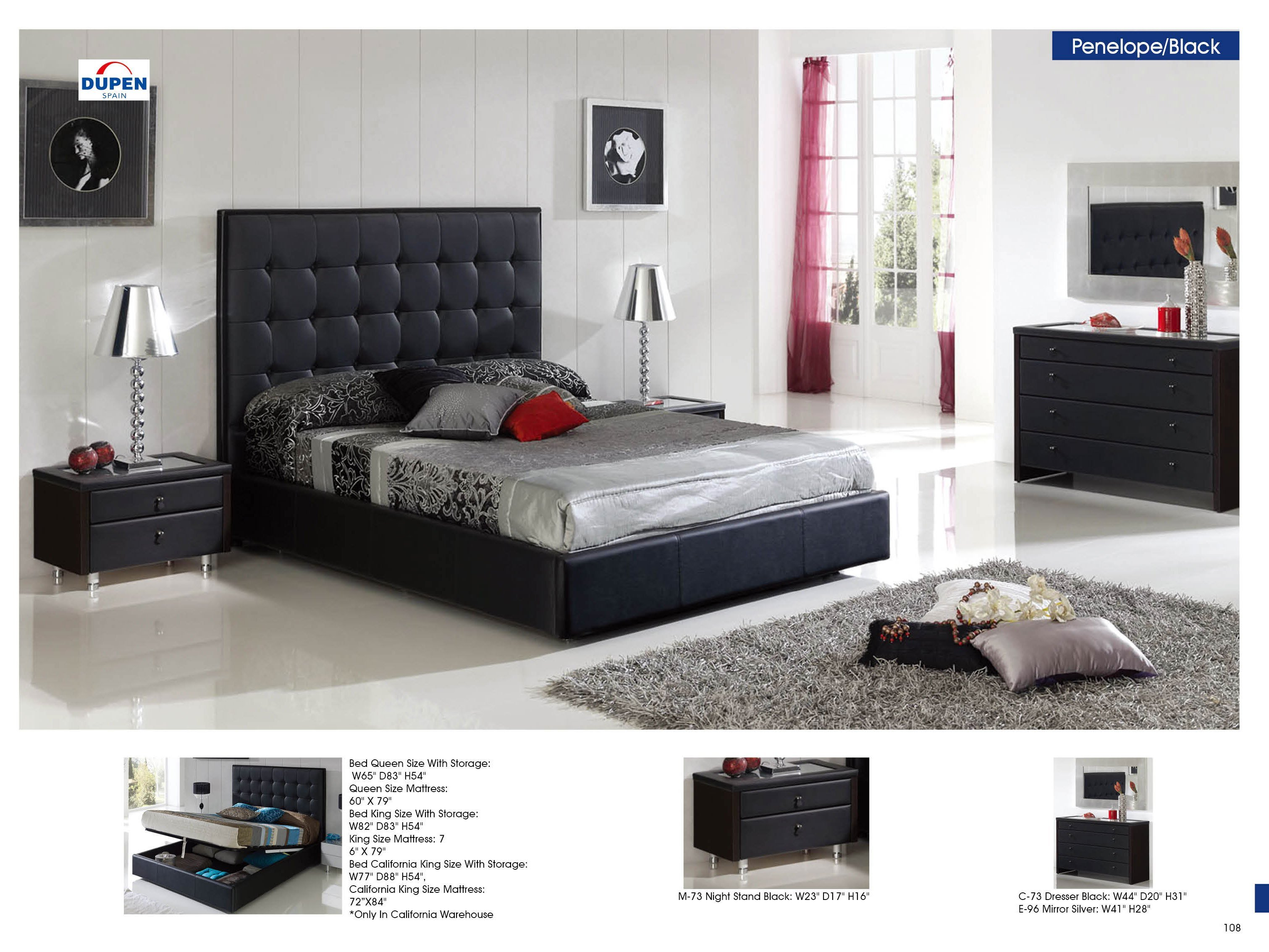 Best Jakob Furniture – Penelope 622 Black M73 C73 B5 E96 With Pictures