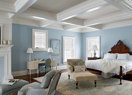 Best The Calming Effect Of Soft Blue – Area Rugs For The With Pictures