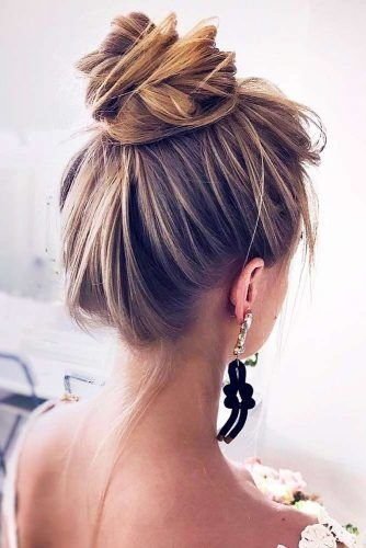 Free 70 Fun And Easy Updos For Long Hair Lovehairstyles Com Wallpaper