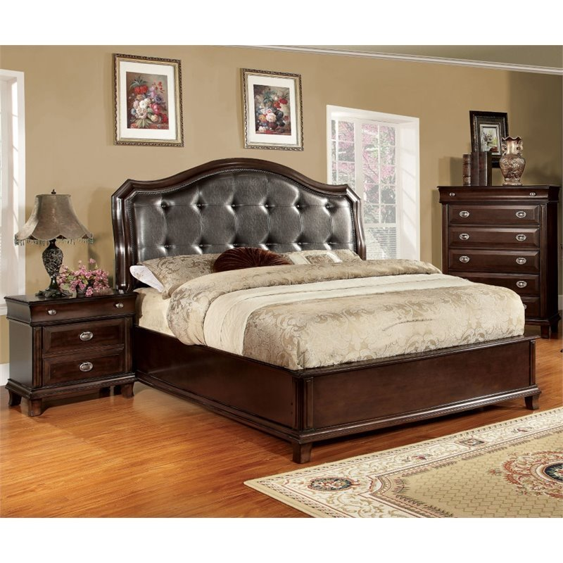 Best Furniture Of America Semptus 3 Piece California King With Pictures