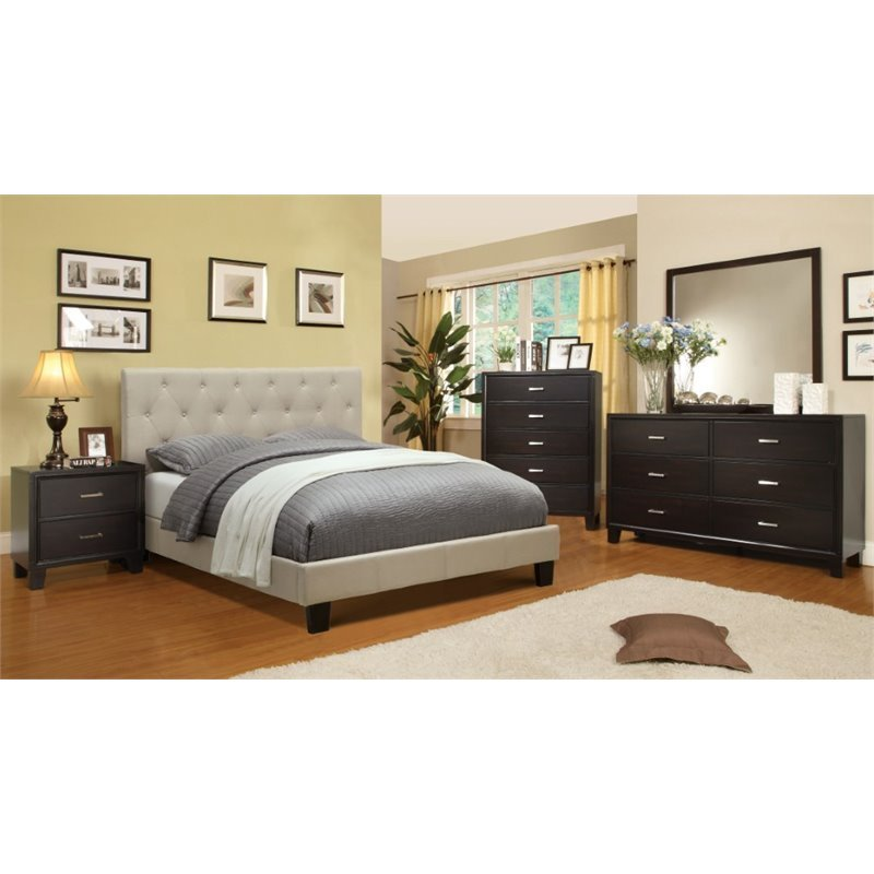 Best Furniture Of America Warscher 4 Piece California King Bedroom Set Ebay With Pictures