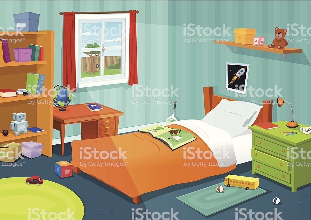 Best Royalty Free Bedroom Clip Art Vector Images Illustrations Istock With Pictures