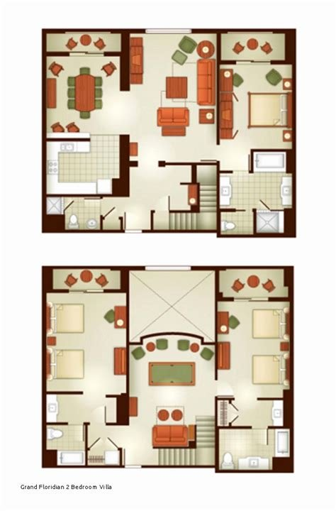 Best 62 Luxury Pics Of Grand Floridian Villas Floor Plan With Pictures