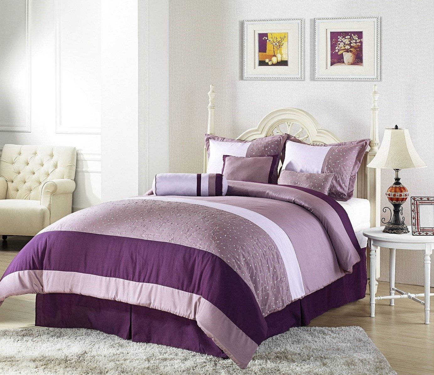 Best The Wide Ranges Of Inspiring Purple Bedroom Ideas And Also With Pictures
