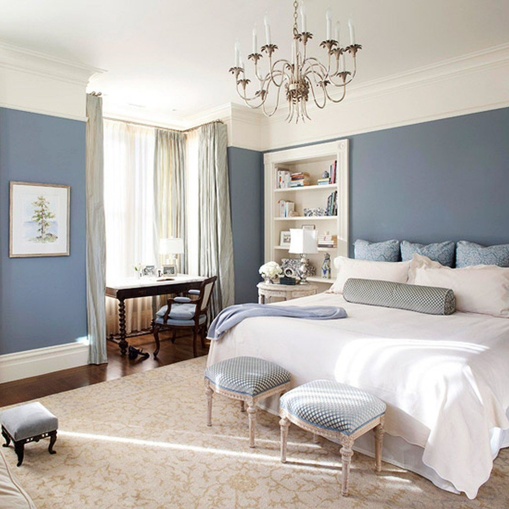 Best How To Apply The Best Bedroom Wall Colors To Bring Happy Atmosphere Midcityeast With Pictures