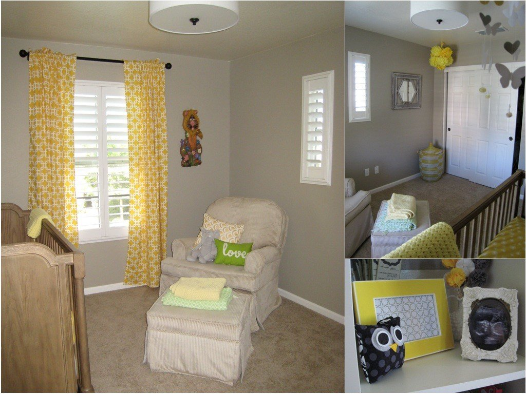 Best Yellow Gray Nursery For Baby T Project Nursery With Pictures