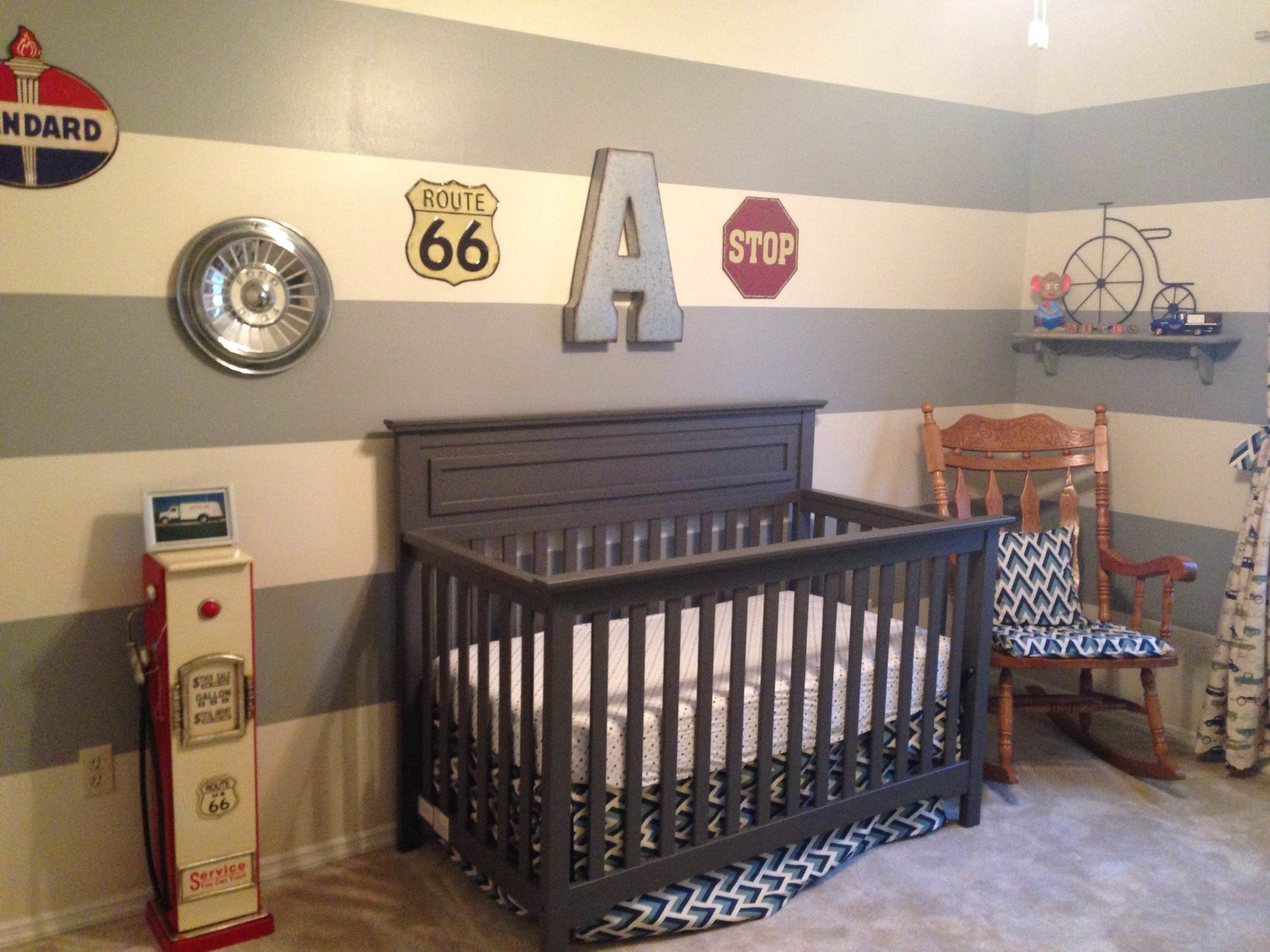 Best Vintage Car Themed Nursery Project Nursery With Pictures