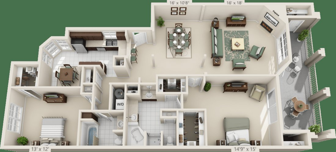 Best Luxury 1 2 3 Bedroom Apartments In San Antonio Tx With Pictures