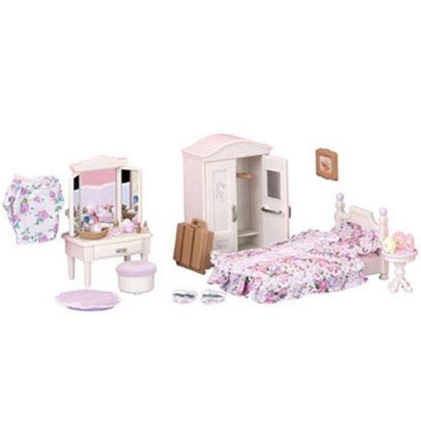 Best Sylvanian Families Guest Bedroom Set Toys Thehut Com With Pictures
