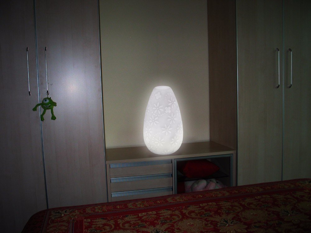 Best Custom Battery Operated Table Lamps Projector Led Bedroom With Pictures