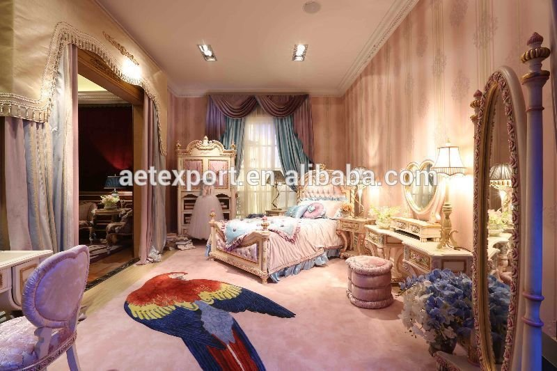 Best Luxury Style Pink Princess Bedroom Children Furniture For With Pictures