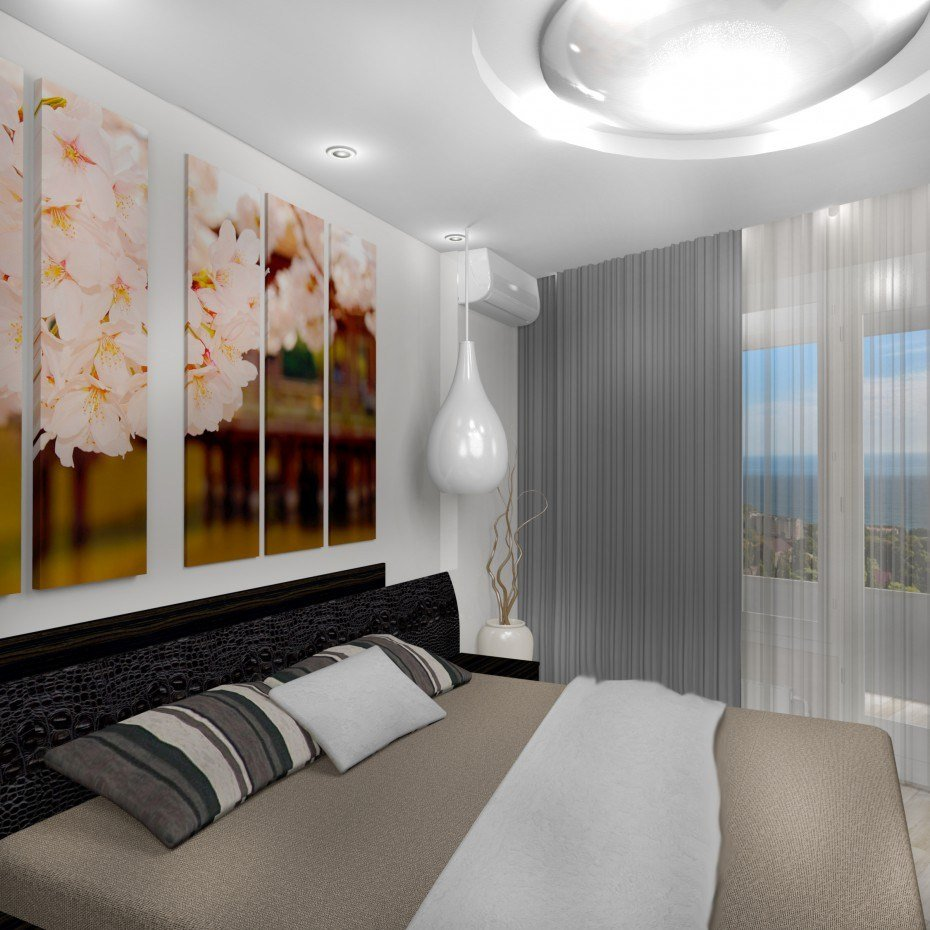 Best Bedroom Sakura 3D Visualization And Design Work In 3D With Pictures