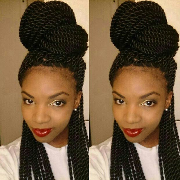 Free 49 Senegalese Twist Hairstyles For Black Women Stayglam Wallpaper